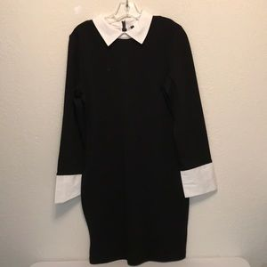Venus women's black and white dress size 12